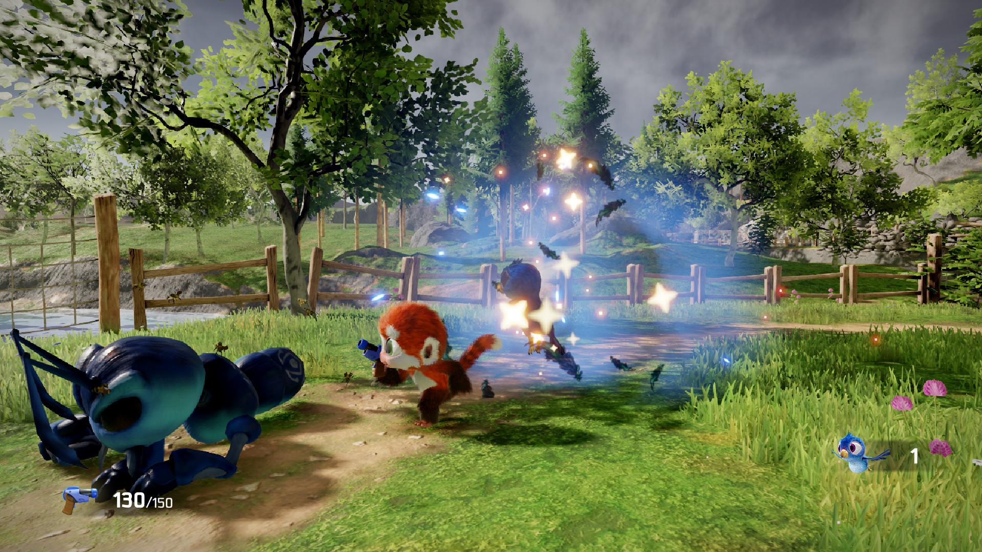 《狨猴》将于9月正式发售,3D动作射击游戏再填新成员