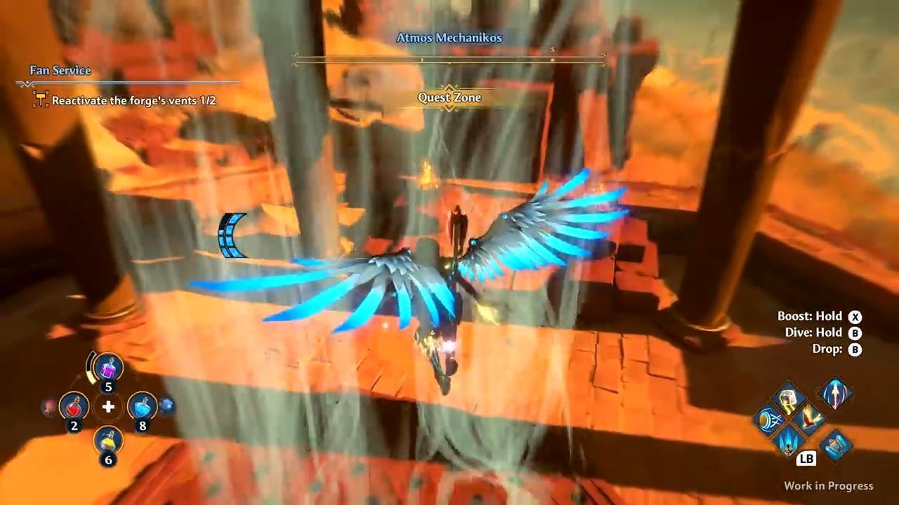 育碧发布《渡神纪:芬尼斯崛起》实机演示视频,战斗画面震撼
