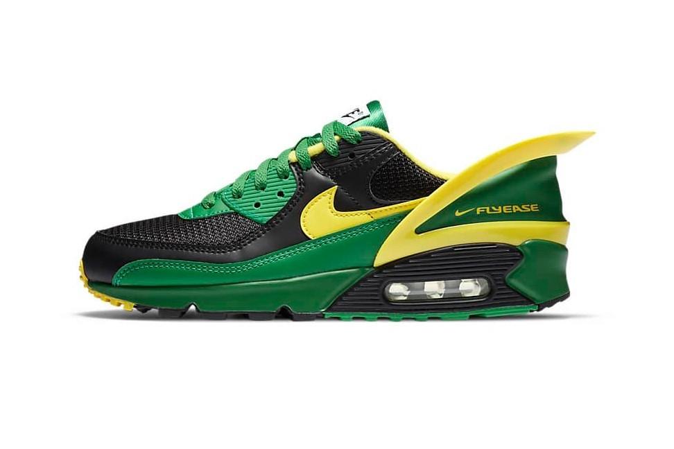 Nike Air Max 90 FlyEase Apple Green配色即将发售