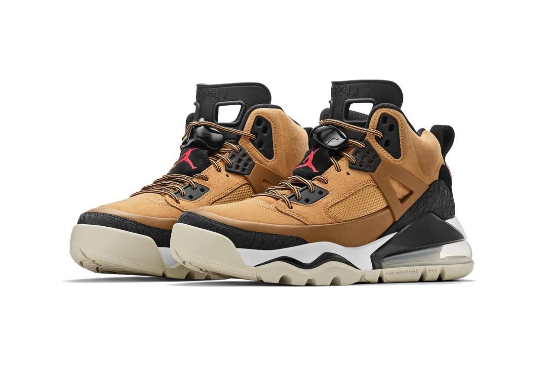 Jordan Brand发布现代生活系列Spiz'ike 270鞋款