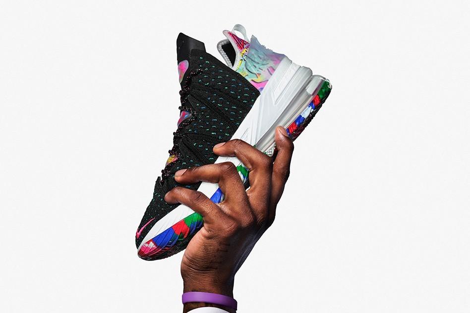 Nike Basketball正式公布LeBron 18官方信息