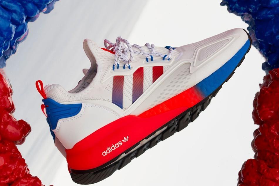 adidas在其创新的2K系列中推出全新的ZX 2K BOOST
