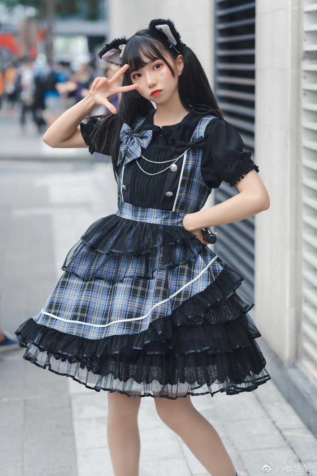 魔法少女蕉偶像歌手小猫娘写真,软萌可爱MAX