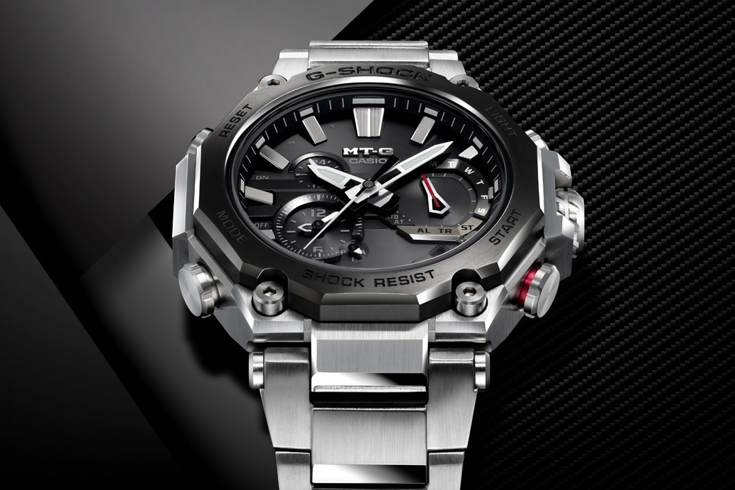 G-SHOCK发行两款奢华而昂贵的MT-GB2000系列手表