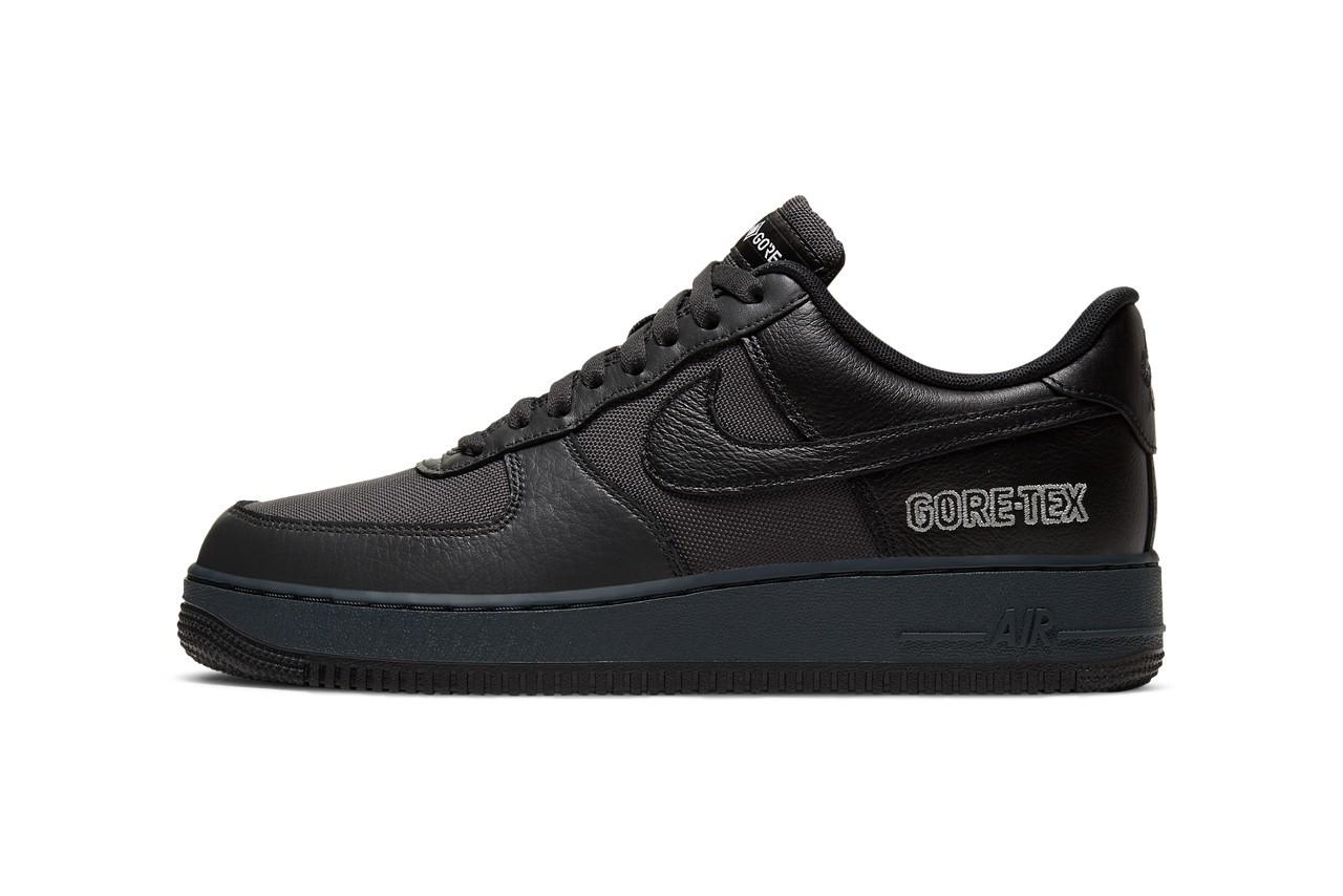 Nike Air Force 1 GORE-TEX发布无烟煤/裸灰色/黑配色