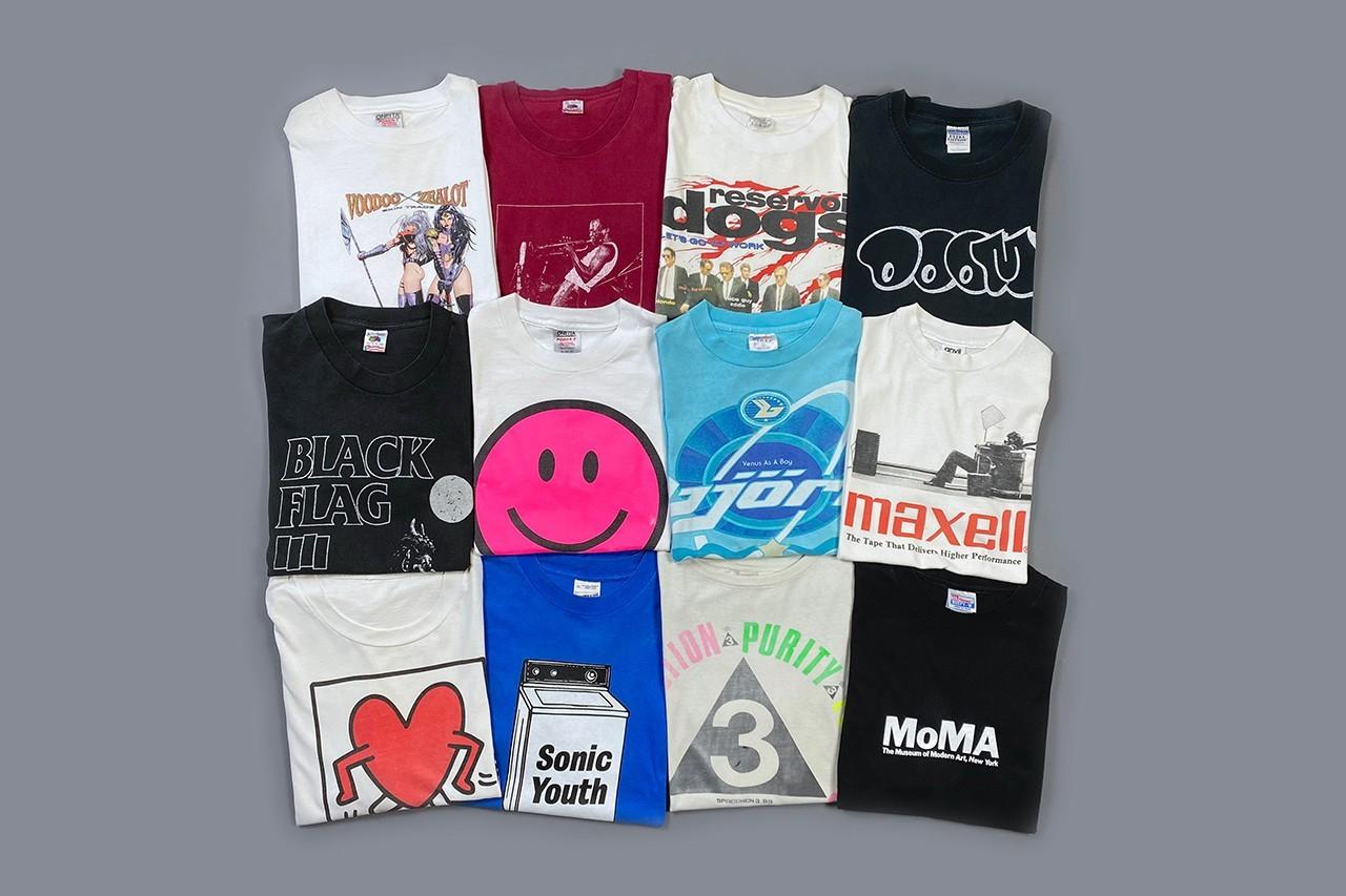 Teejerker推出200多种复古T恤庆祝四周年