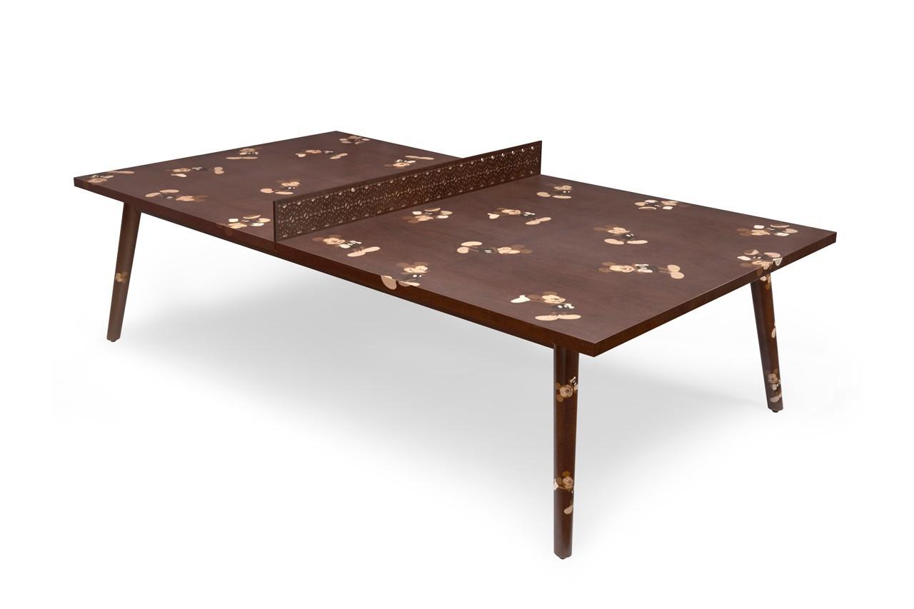 坎帕纳兄弟公司推出限量版米老鼠乒乓球桌