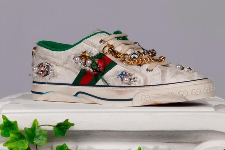 古驰Sneaker Garage为玩家提供专属数码鞋款