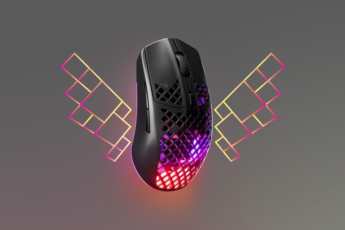 赛睿推出超轻型Aerox 3无线游戏鼠标