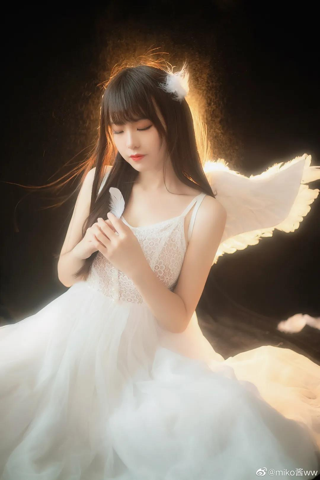 漂亮女孩系列,miko酱ww天使写真