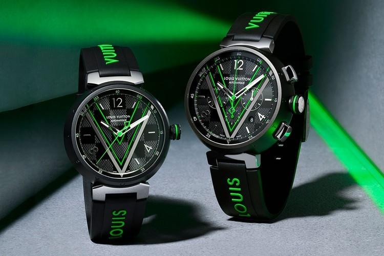 路易威登的最新Tambour手表突显Virgil Abloh大胆的男装设计