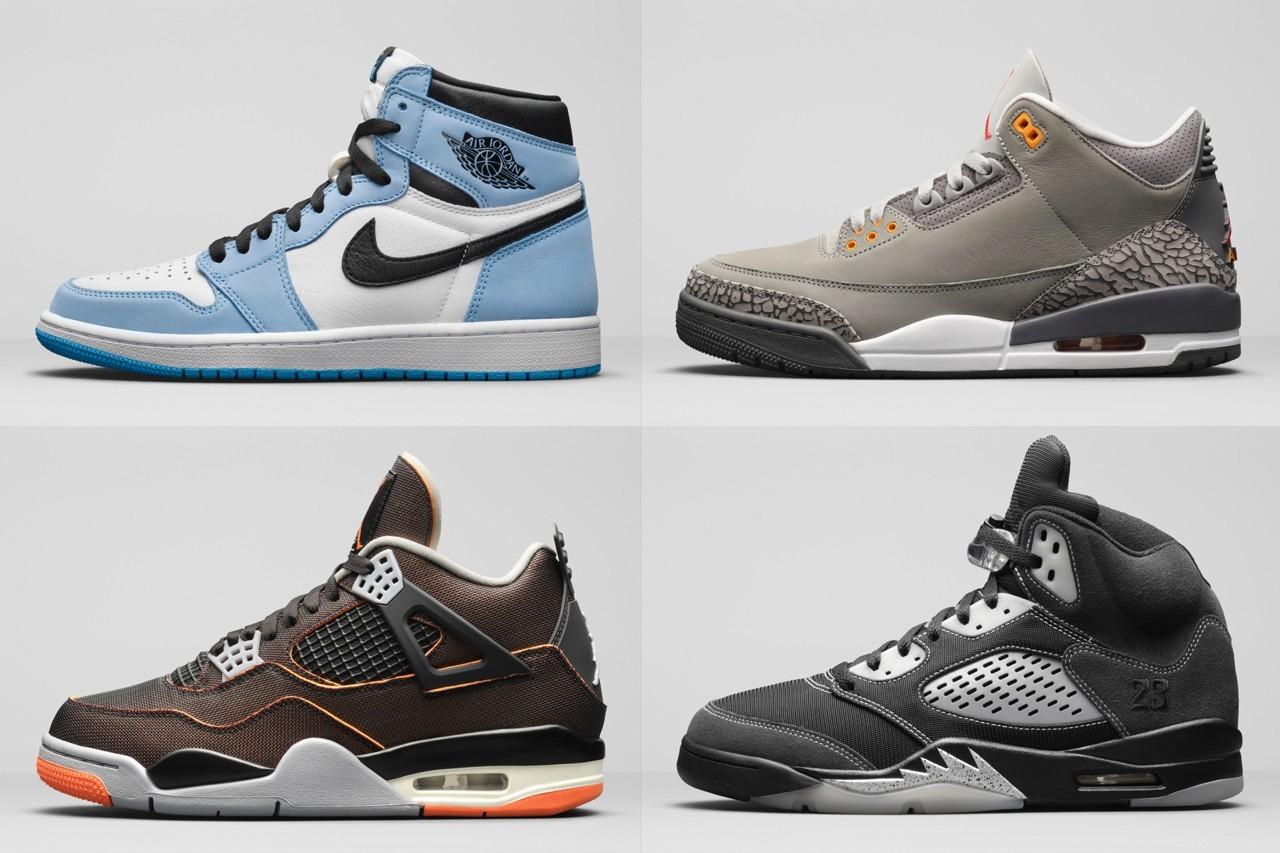 Jordan Brand呈现2021年春季复古系列
