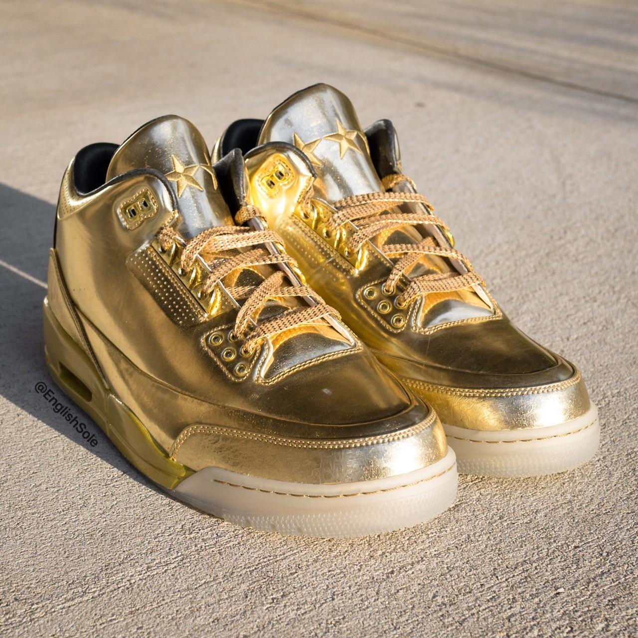 全金配色Air Jordan 3限量发售仅10双