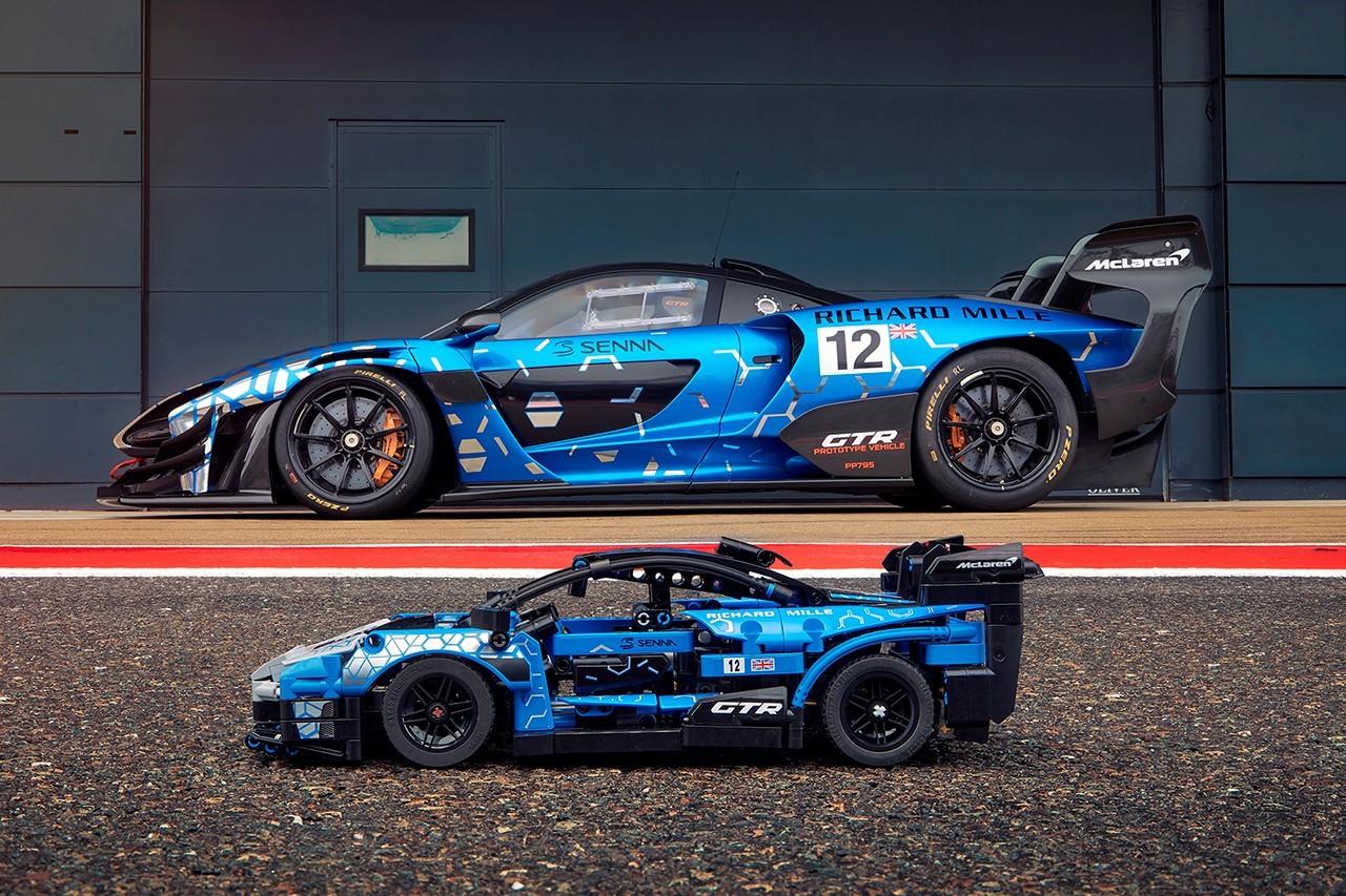乐高与迈凯轮合作塞纳GTR模型