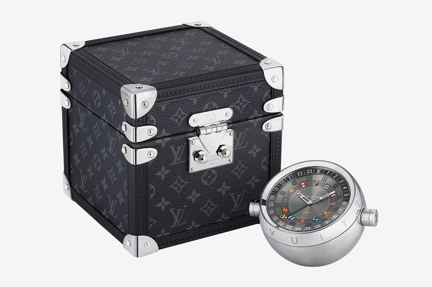 路易威登发布量身定制的GMT旅行时钟