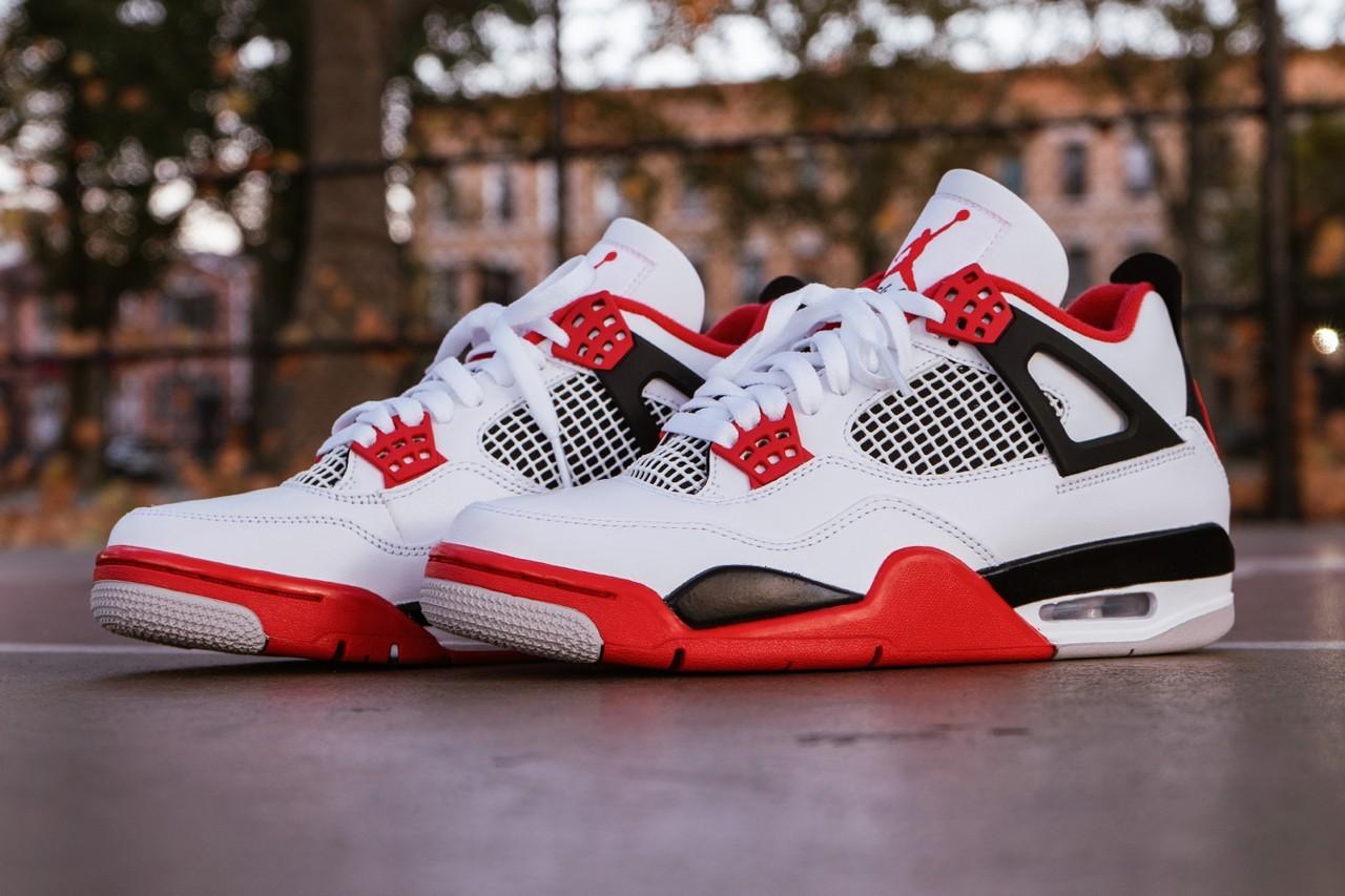 Jordan Brand推出Air Jordan 4 Fire Red配色