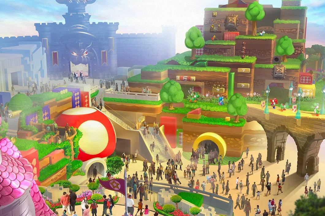 日本即将竣工的超级任天堂世界主题公园