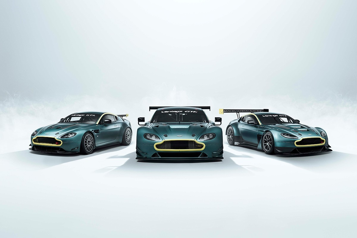 阿斯顿·马丁发布Vantage Legacy系列跑车庆祝其在赛车上的成功