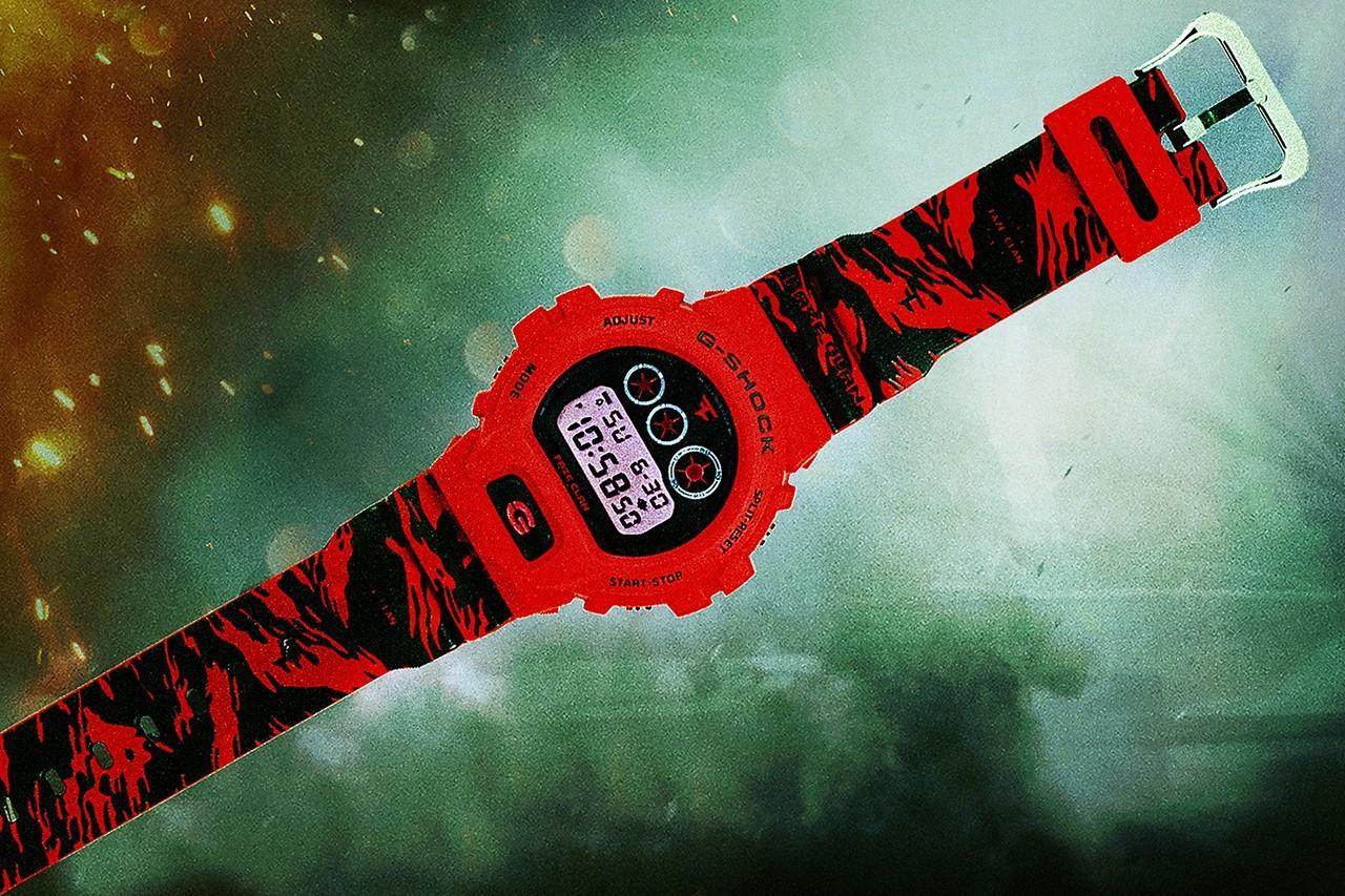 FaZe Clan战队庆祝十周年推出G-SHOCK联名手表FAZE UP