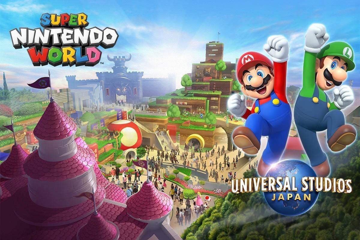 超级任天堂世界主题游乐园确定开幕日期