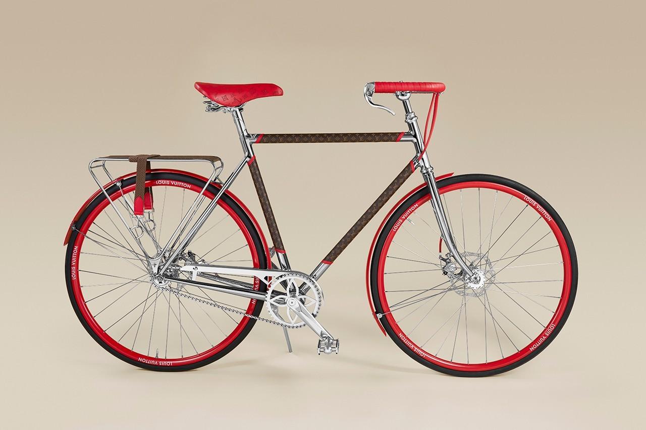 路易威登和Maison TAMBOITE合作推出LV Bike自行车