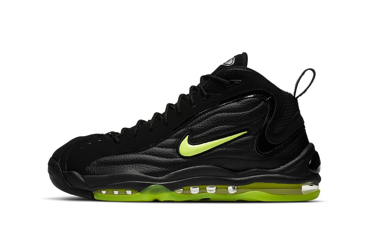 OG Nike Air Total Max Uptempo Black/Volt将再次发售