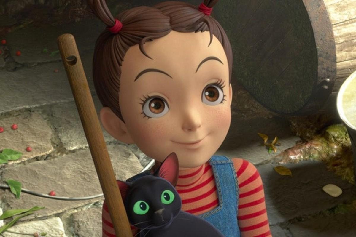 吉卜力工作室的首部CG长片《安雅与魔女》首映
