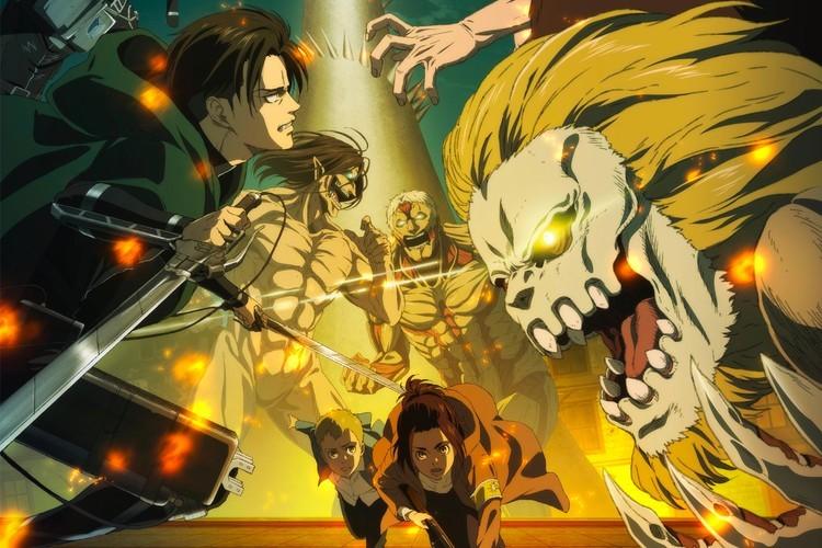 《进击的巨人》最后一季发布最新预告片