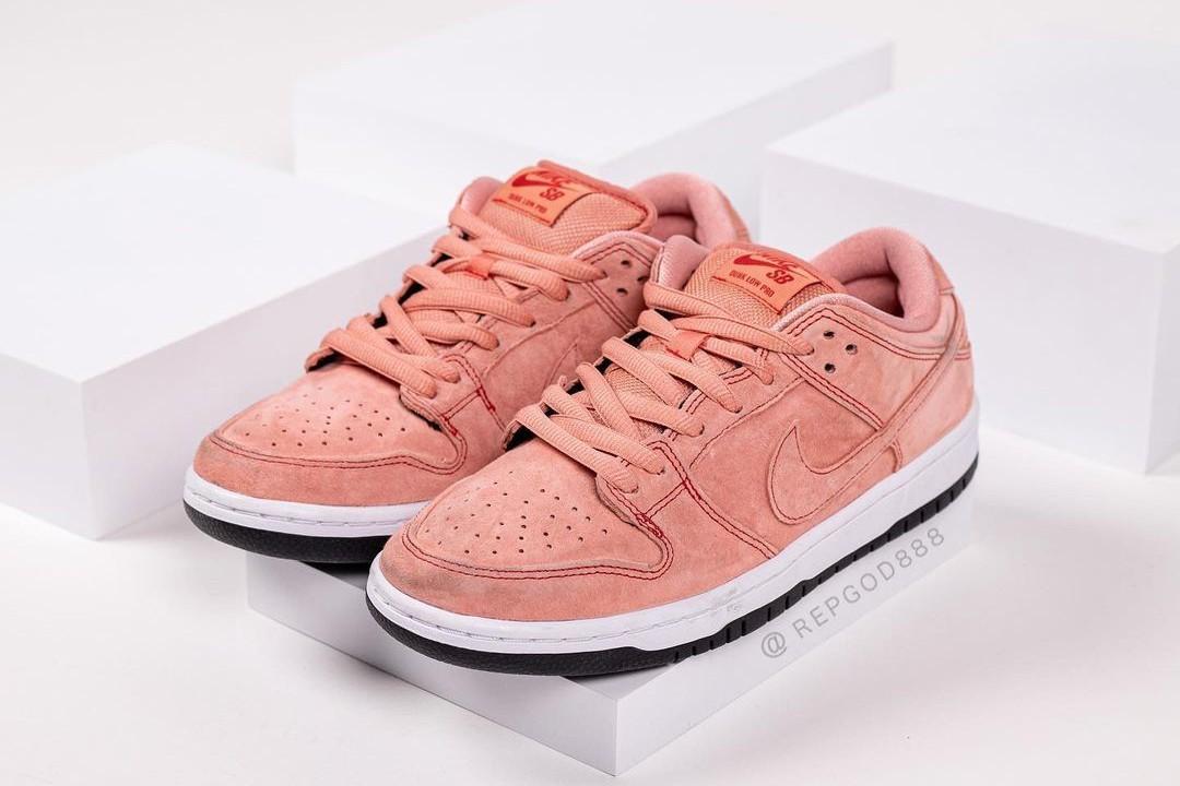 Nike SB Dunk Low Pink Pig配色抢先看