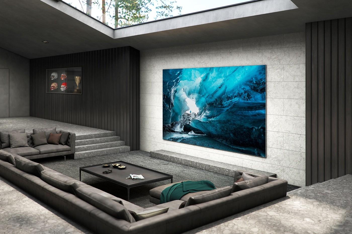 三星推出110英寸MicroLED 4K电视