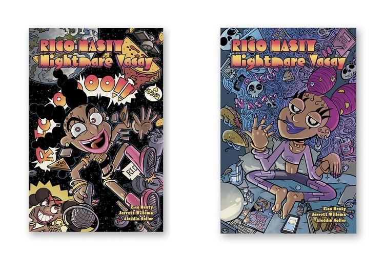 Rico Nasty发行受LP'Nightmare Vacation'启发的漫画书