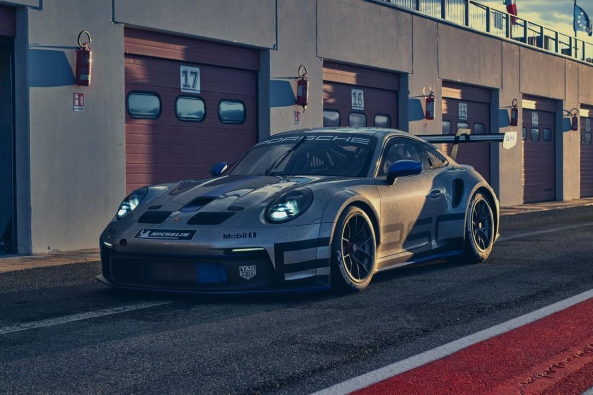 保时捷首次亮相其992代911 GT3 Cup赛车