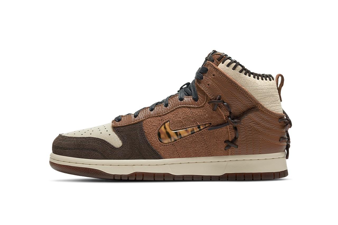 Bodega x Nike Dunk High Fauna Brown正式发售