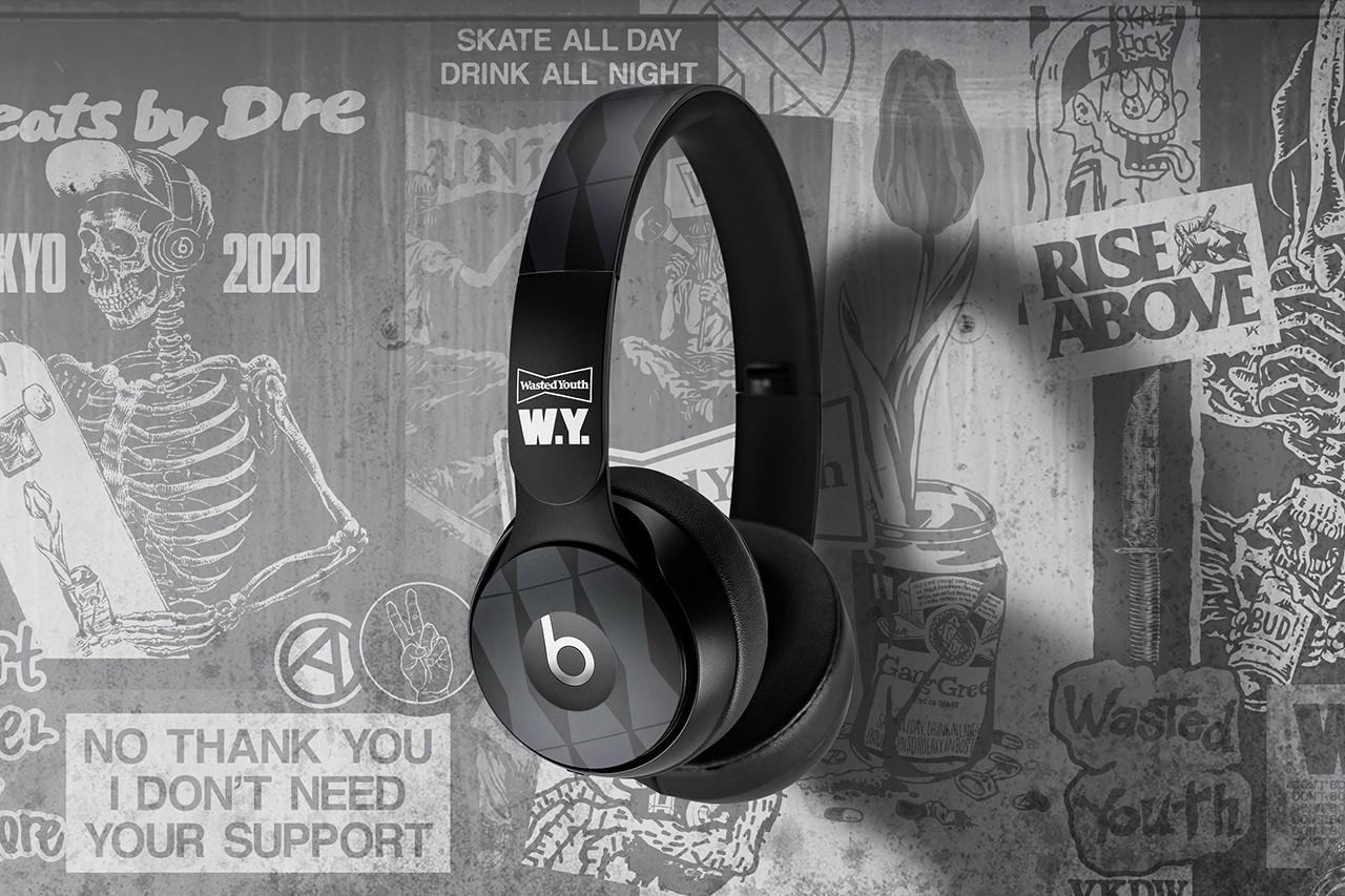 Beats与Verdy推出联名款Wasted Youth Beats Solo Pro耳机