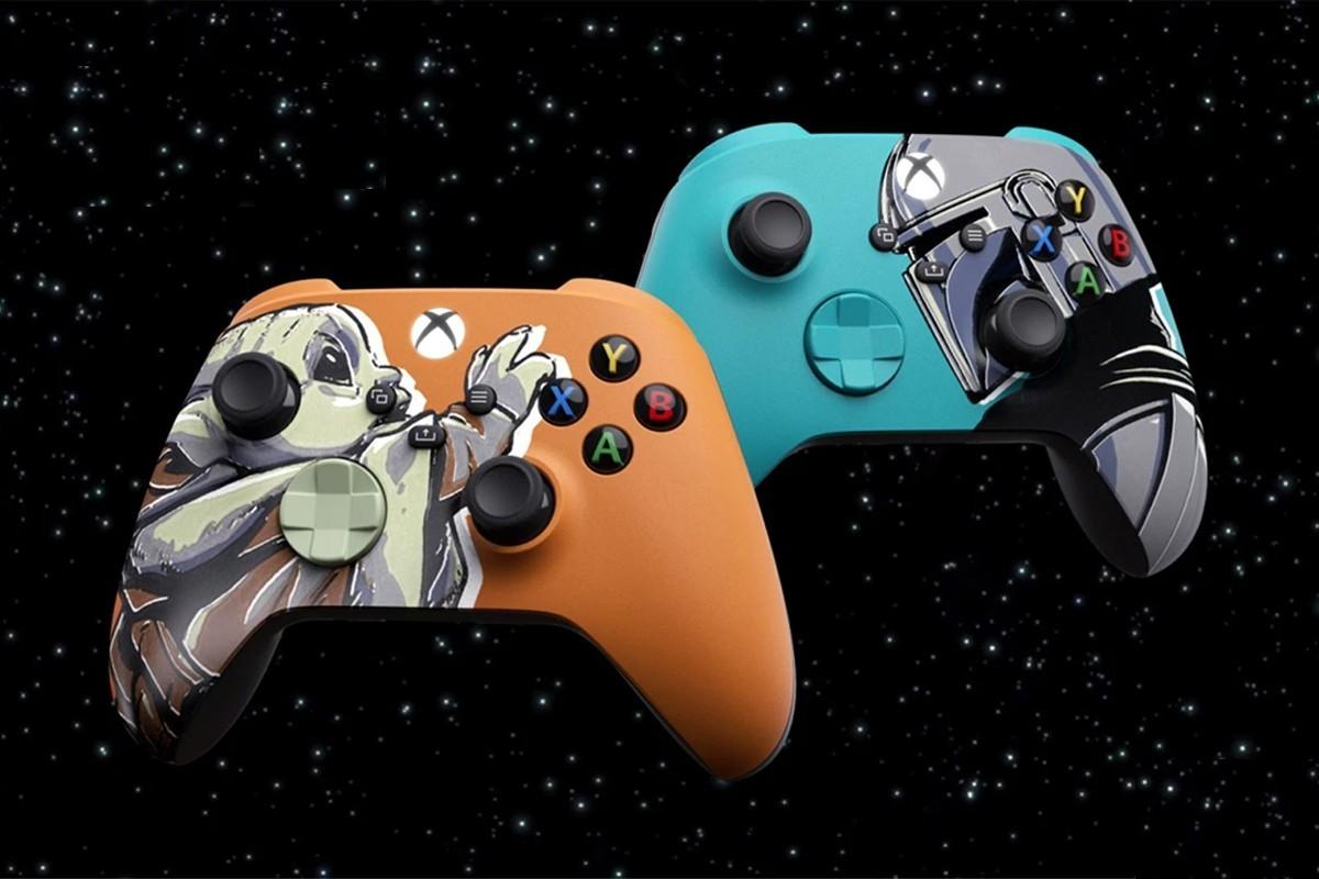 微软Xbox推出两款曼达洛人联名版手柄