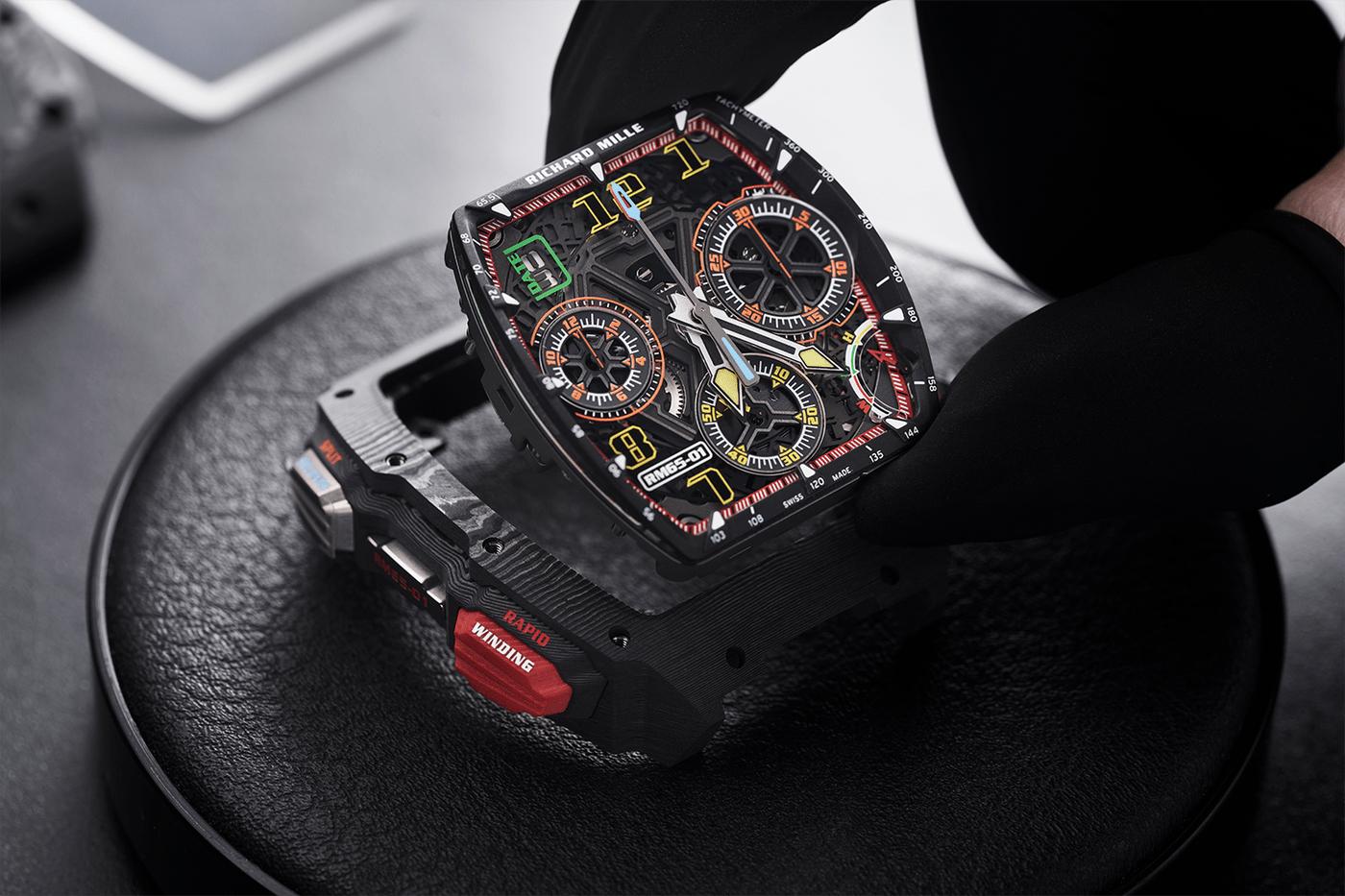理查德米勒RM 65-01是最复杂的手表