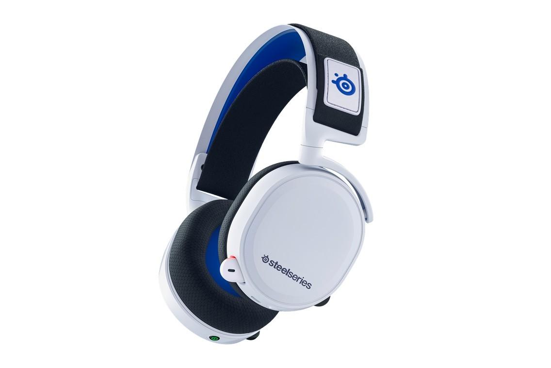 赛睿发行以PS5为主题的寒冰7P无线游戏耳机
