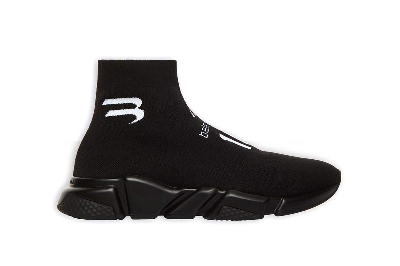 巴黎世家发布全新配色Speed Trainer鞋款