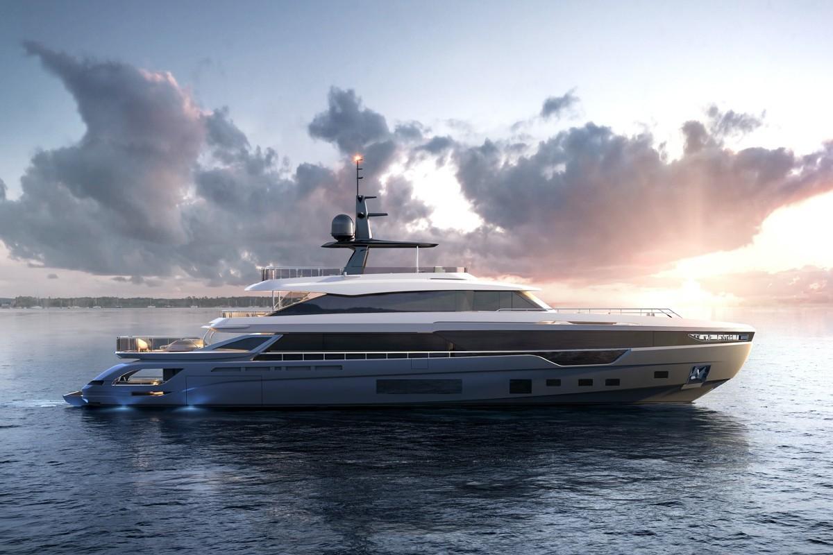 阿兹慕(Azimut)最大的Grande Trideck超级游艇即将在2021年交付