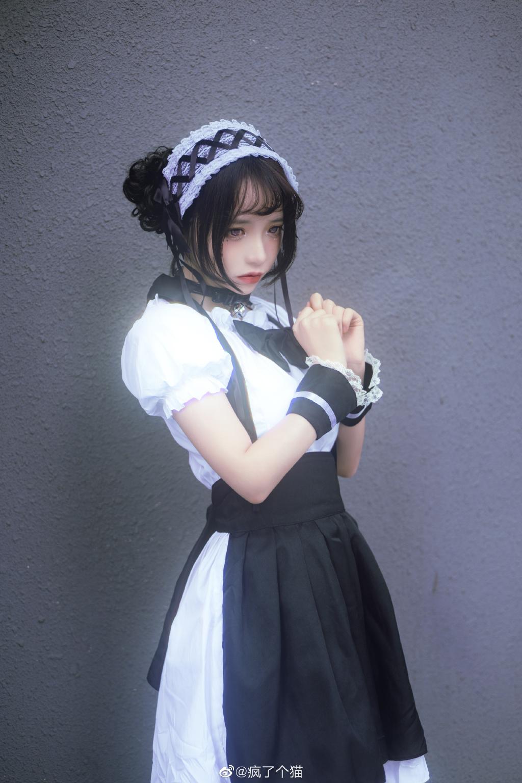 疯了个猫女仆装写真,漂亮女孩系列