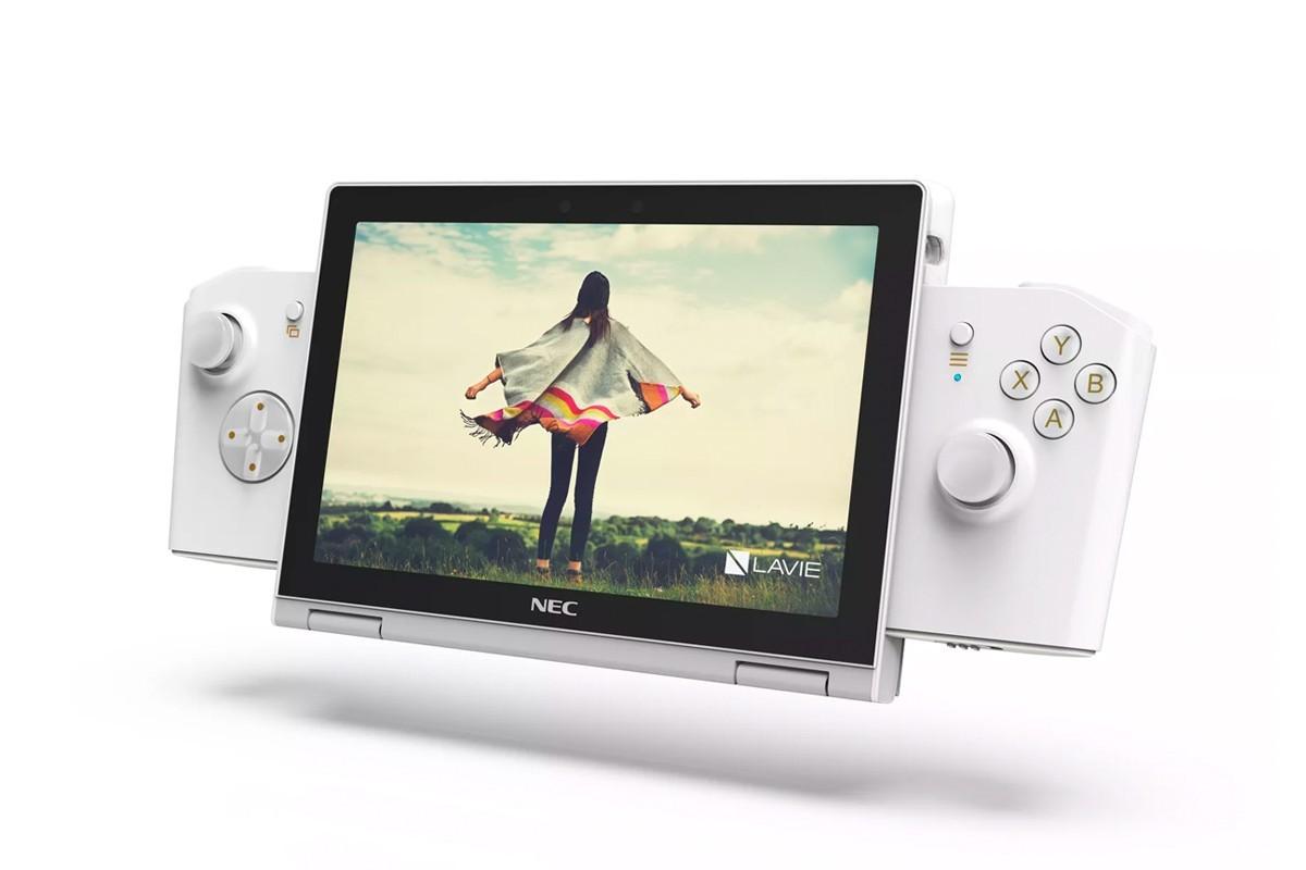 联想和NEC发布手持式PC游戏设备原型LaVie Mini