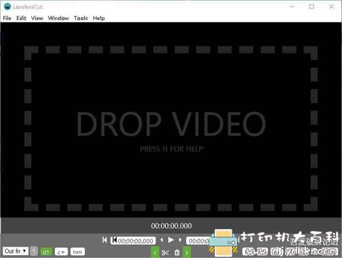 音视频无损切割工具 lossless-cut v2.6.2 配图 No.1