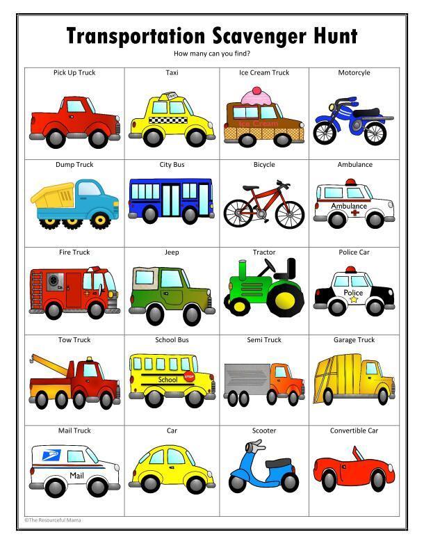 旅行途中,适合家长与孩子一起玩的亲子互动英文小游戏图片 No.2