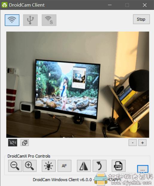 [Android]DroidCamX Wireless Webcam Pro v6.7.1手机变网络摄像头和USB摄像头图片 No.3