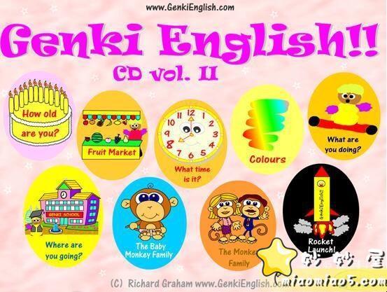 幼儿英语启蒙动画 Genki English元气英语 活动教学软件共51个主题图片 No.1
