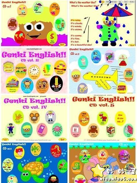 幼儿英语启蒙动画 Genki English元气英语 活动教学软件共51个主题图片 No.2