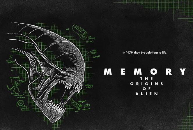 [英语中英字幕]《异形》上映40周年纪录片-《回忆录:异形起源故事》 Memory: The Origins of Alien (2019) 全1集 高清图片