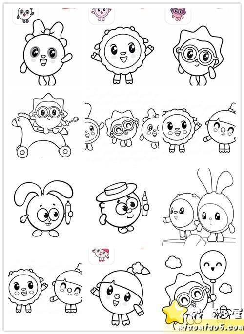 《图》十几页瑞奇宝宝涂色baby Riky图片 No.1