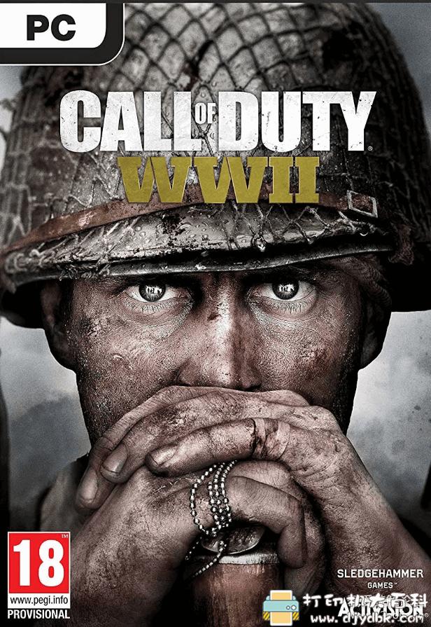 PC大型单机游戏 [使命召唤14:二战 Call of Duty: WWII 官方中文单人绿色安装硬盘版 附1-13代链接图片 No.1