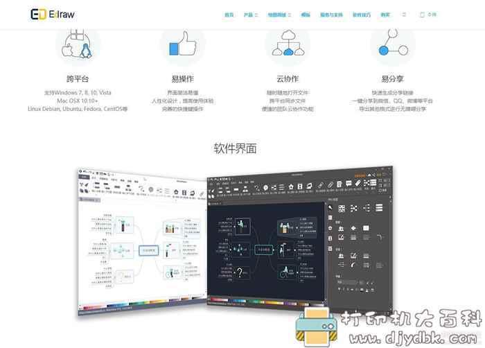 [Windows]亿图思维导图软件 Edraw MindMaster Pro 7.3 中文直装版全功能专业版图片 No.2